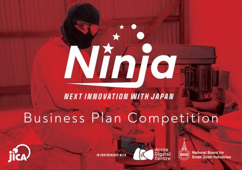 Inviting startups to apply for the NINJA Business Plan Competition in response to COVID-19 in Ghana